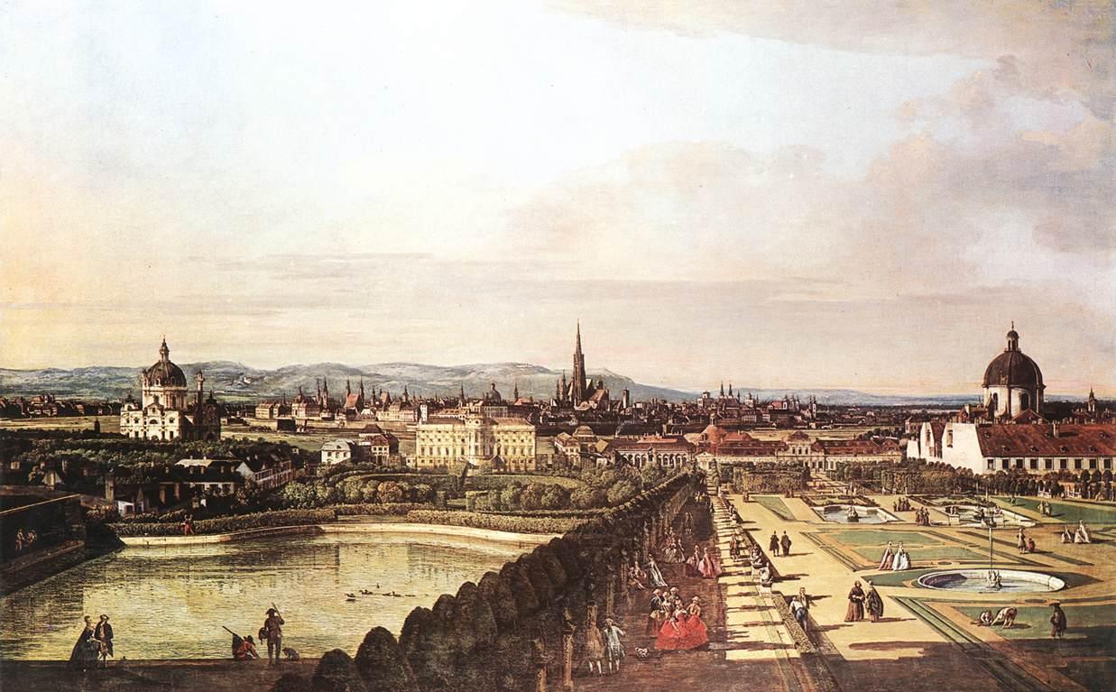 Viena - Bernardo Bellotto 1760