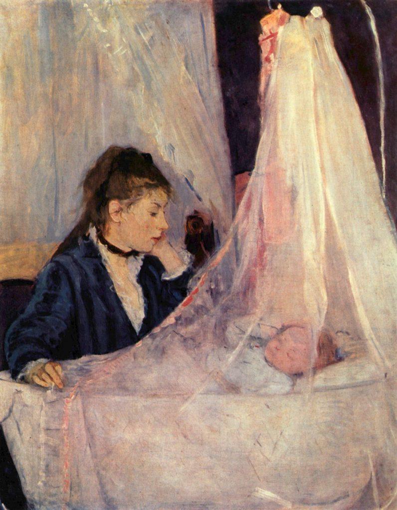 La Cuna - Berthe Morisot 1872
