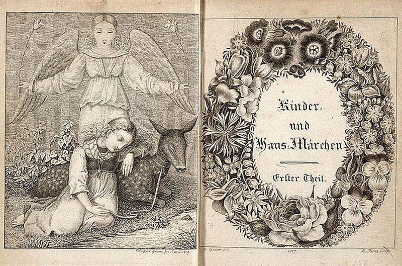 Edición de 1819. Ludwig Emil Grimm (otro hermano)
