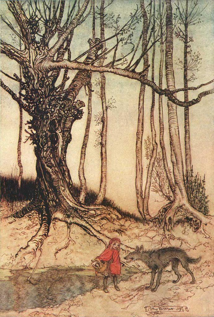 Caperucita Roja. Arthur Rackman