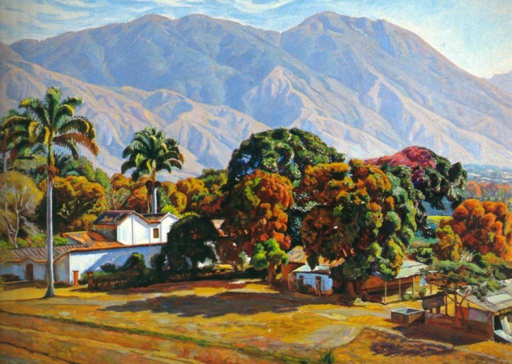 Manuel Cabré, Monte Avila, 1907