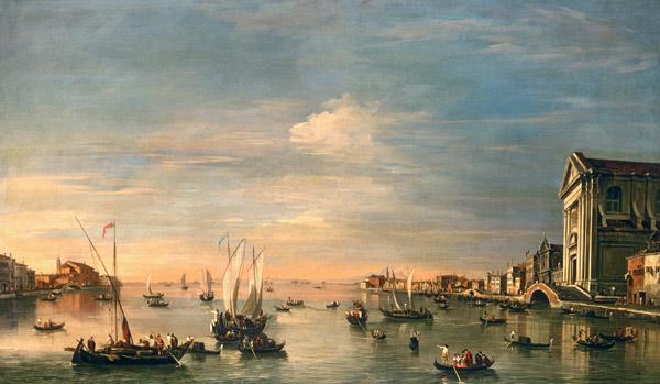 F. Guardi, Canale della Giudecca, s.f.