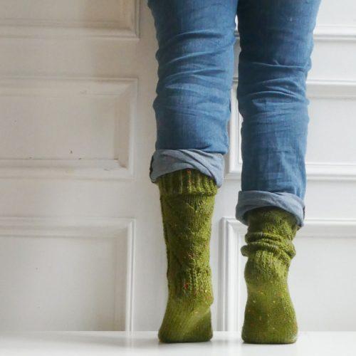 Carderner Socks Back view
