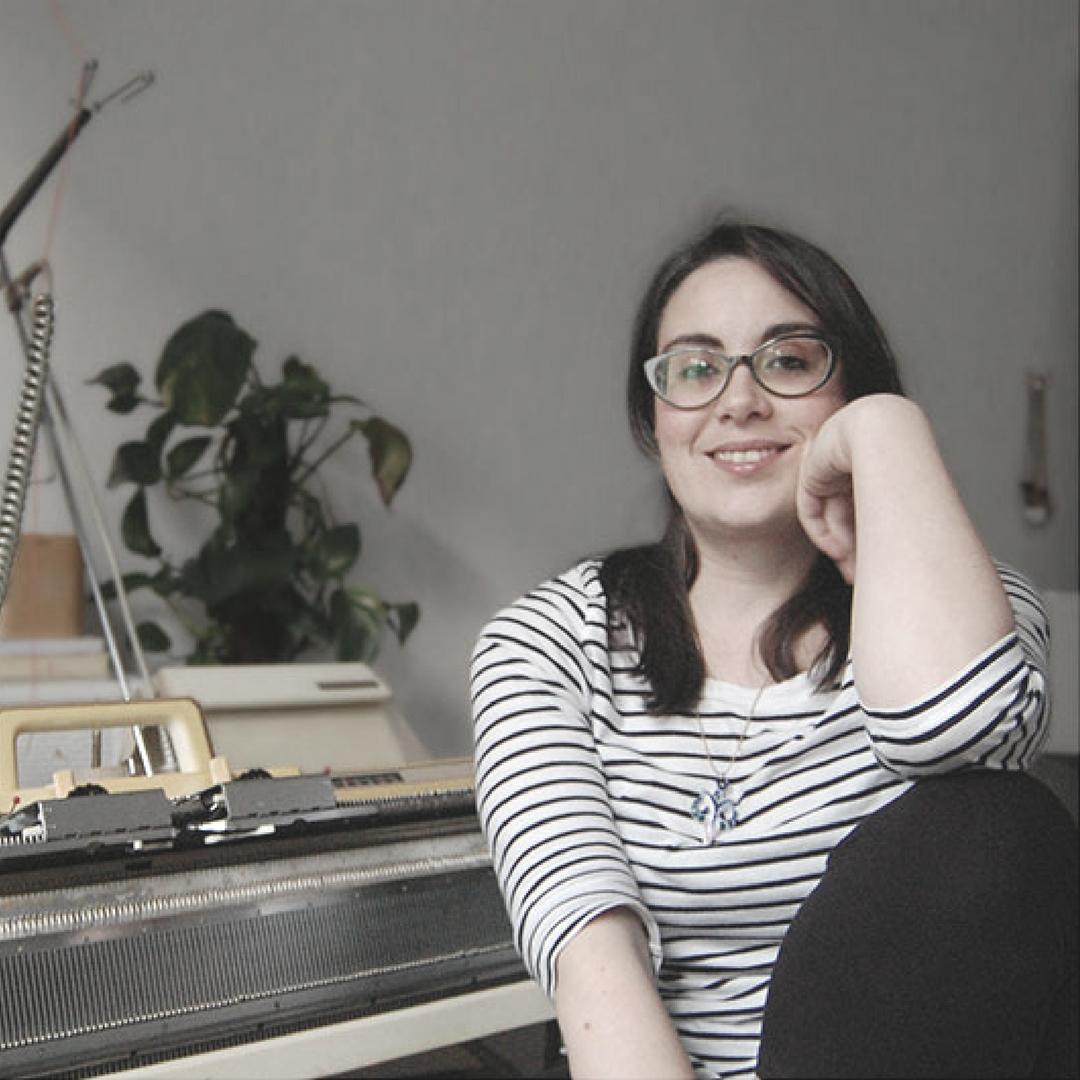 Entrevista para el Blog Pearl Knitter Soraya y su tricotosa