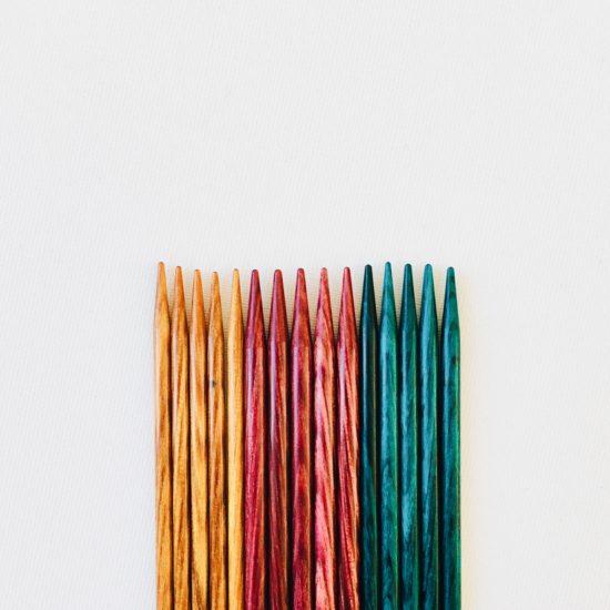 ¿Cómo elegir tus agujas de punto?